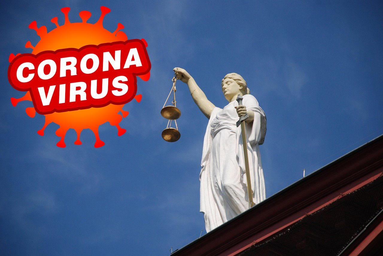 corona en rechtspraak